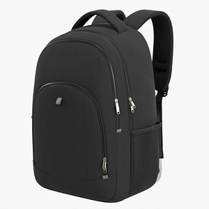 3D Backpack with laptop compartment model