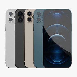 3D iPhone 13 Pro max  All Colors model