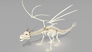 Dragon skelet model
