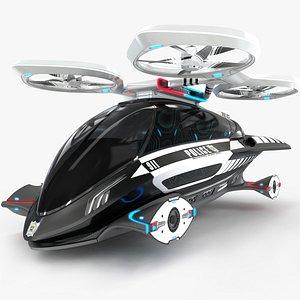 3D model Individual Aircraft Police