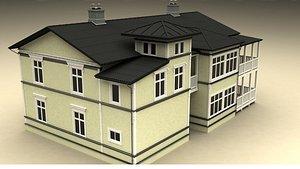 3D house manison 1920