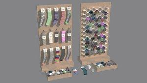 covered furniture 3D model