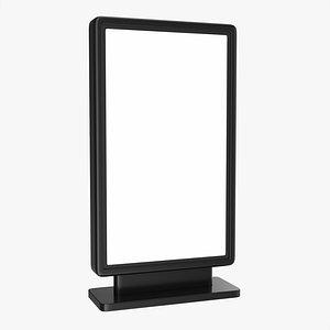 mockup display ad 3D model