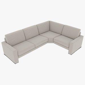 3D modular sofa