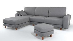 sofa furniture 3D model