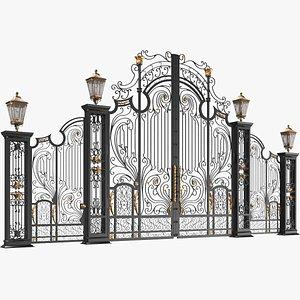 iron gate classic 3D model