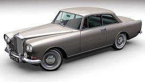 3D Bentley S3 Continental 1964