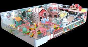 3D indoor playground
