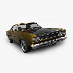 Plymouth Road Runner 1969 3D model