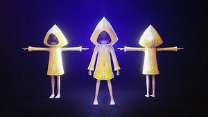 animation rig 3D model