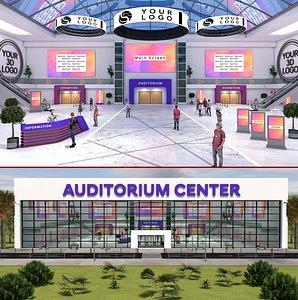 3D E-Congress Center 1