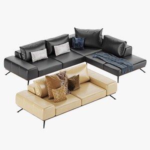 3D model Sofa Kler Figaro Uno