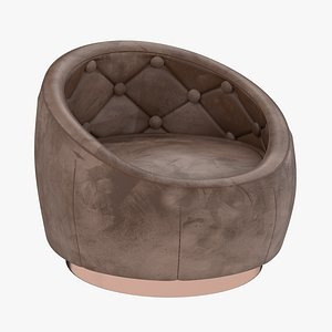 3D chair furniture armchair