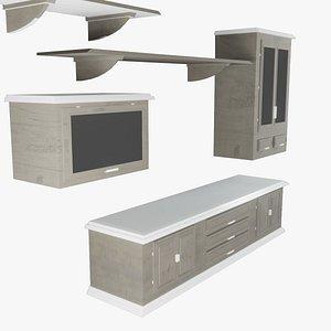 Living room furniture 3D