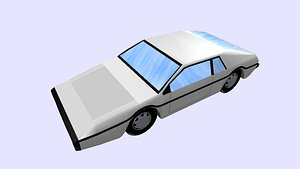 3D car esprit s1 model