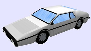 3D car esprit s1 model