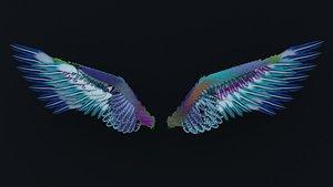 angel wings 3D model