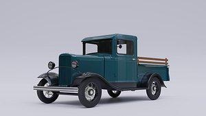 1932 Ford Model B Pickup 3D