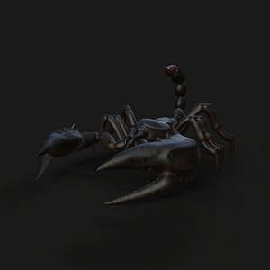 3D Scorpion Animation and Texture Pack 3D model