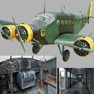 Junkers Ju-52 3m-g7 3D