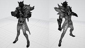 sett 3D model