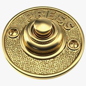 bell push button gold model