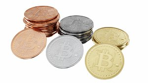 Bitcoin cryptocurrency sign model