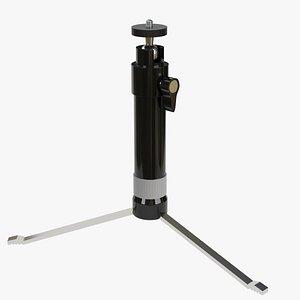 tabletop camera tripod 3D