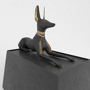 Anubis Shrine Stone model