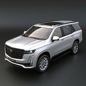 3D 2021 Cadillac Escalade