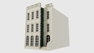 3D Classic Building 04