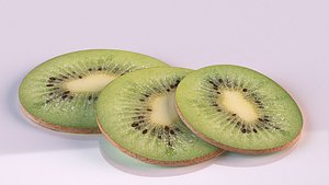3D kiwi slice