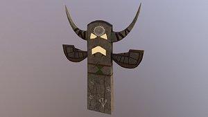 3D model Shaman Totem