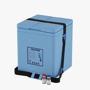3D model Vaccine Carrier Box