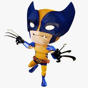 character marvel 3D model