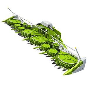 Harvester Threshing Header 3D model
