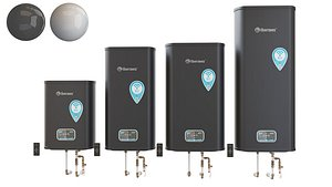 3D model Set Water heater THERMEX ID V pro Wi-Fi