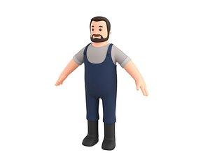 3D Character111 Man model