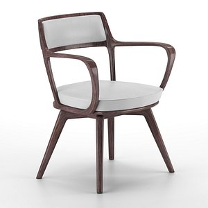3D giorgetti baron chair