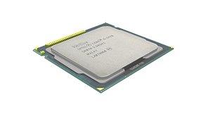 Intel Core i5-3470 Processor 3D model