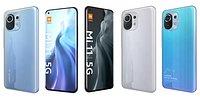 Xiaomi Mi 11 5G All Colors