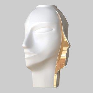 3D vase split atlas