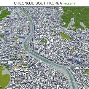 3D model Cheongju South Korea