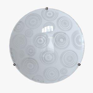 Wall light Print Cogwheels 3D
