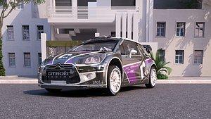 Citroen ds3 WRC 4 3D model