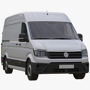 3D VW Crafter 2 Van model