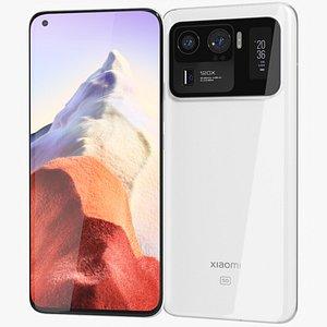 Xiaomi Mi 11 Ultra White 3D model