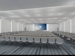 3D Conference Hall 3