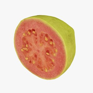 Half a Guava - Real-Time 3D Scanned 3D