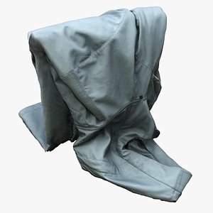 hanging jacket 3D
